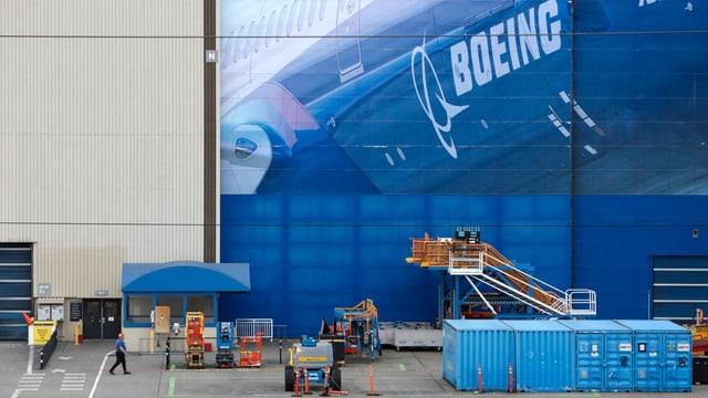 Zu sehen ist das Boeing-Hauptquartier in Seattle.