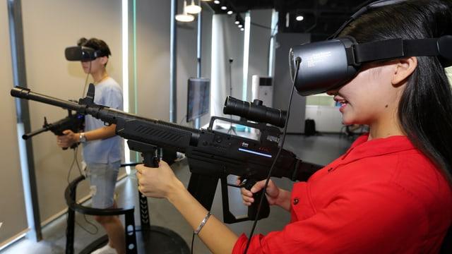 Was ist virtuelle, was erweiterte Realität?
