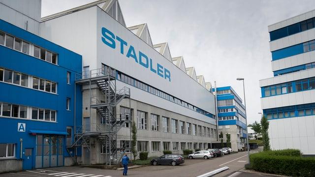Stadler Produktionsgebäude