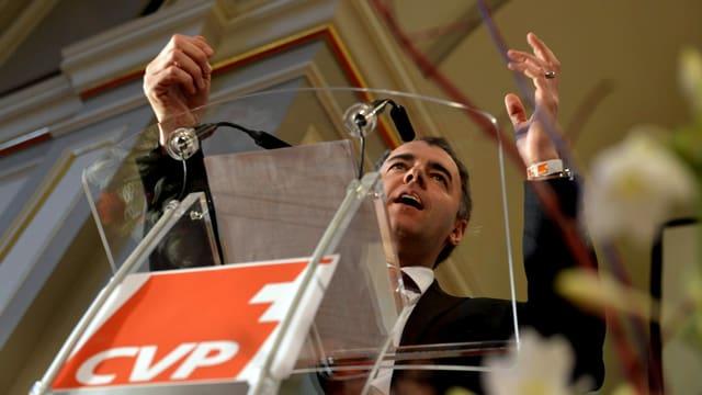 CVP-Parteipräsident Christophe Darbellay