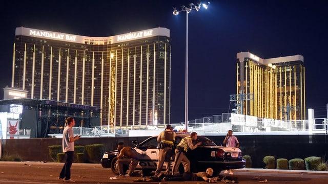 Bild vom Massaker in Las Vegas.