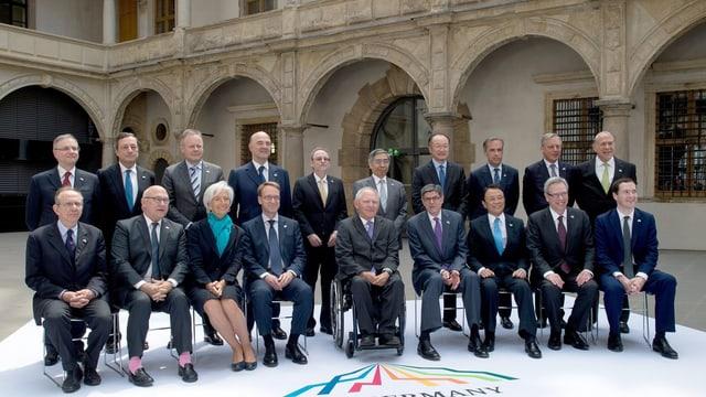 Gruppenbild der Finanzminister.