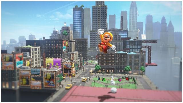 Der Schnappschuss Modus ist neu in Super Mario Odyssey