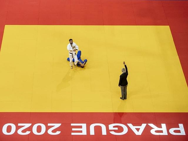 Der Schweizer Judoka Nils Stump