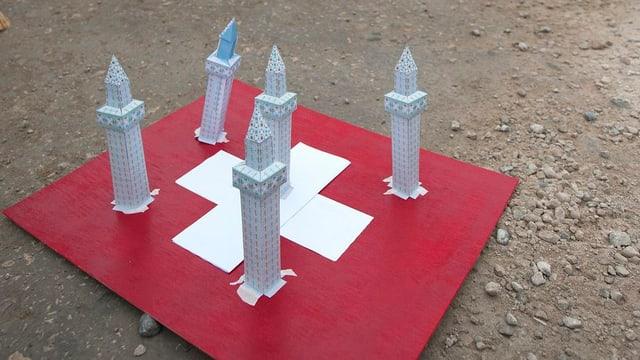 Die Schweiz, garniert von Minaretten.