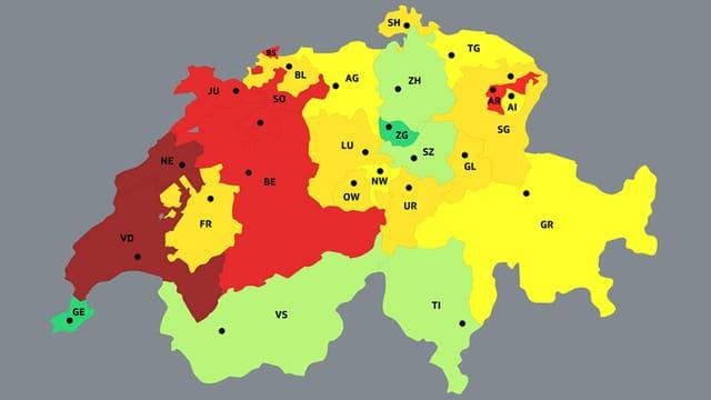 Kantone im Vergleich