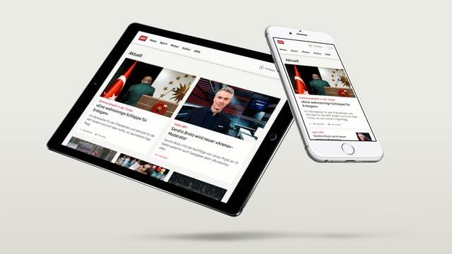SRF ist dort präsent, wo das Publikum zunehmend ist: im Web.