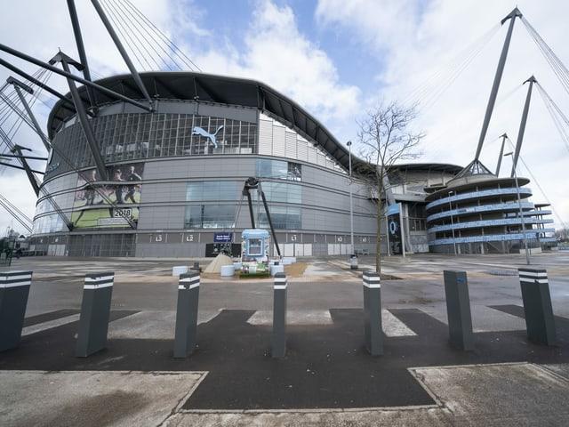 Stadion von Manchester City.