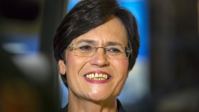 Christine Lieberknecht lacht