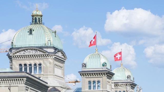 Las turs da la Chasa federala a Berna