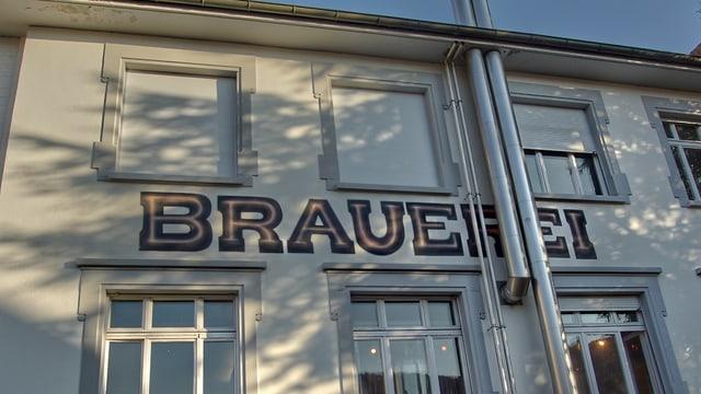 Das Gebäude der Öufi Brauerei in Solothurn.