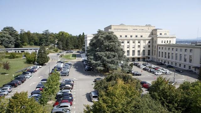Das Palais des Nations in Genf.