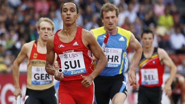 Jan Hochstrasser beim Laufen
