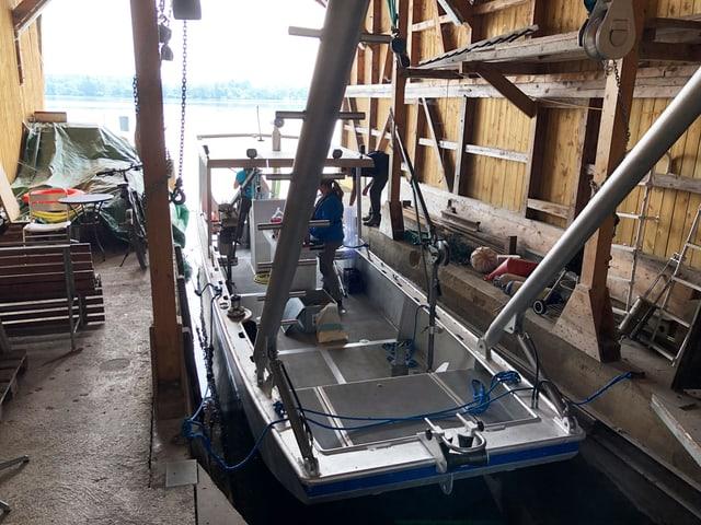 Forscherboot