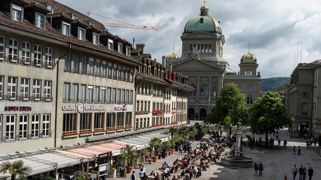 Hier soll sich etwas ändern: Der Bärenplatz im Herzen von Bern.