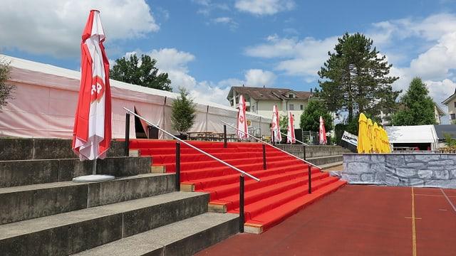 Sportplatz in Eschenbach