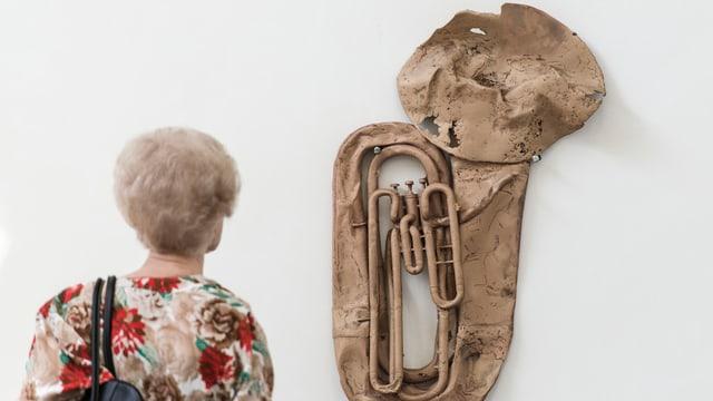 Werk von Valentin Carron an der Biennale Venedig 2013.