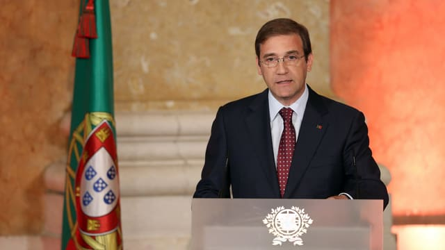 Ministerpräsident Pedro Passos Coelho