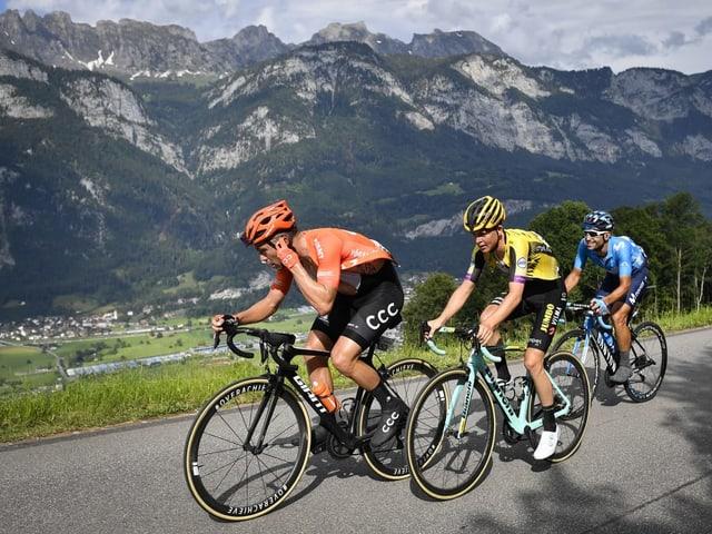 Die Sportler fahren neu nur noch während 8 statt 9 Tagen durch die Schweiz.