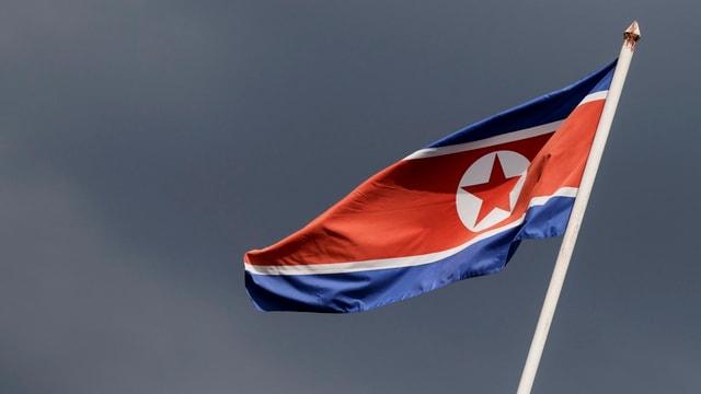 Flagge Nordkoreas