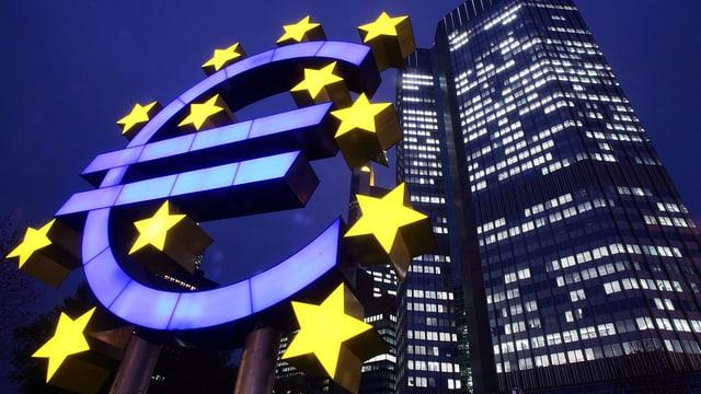 EZB-Hauptsitz in Frankfurt am Main