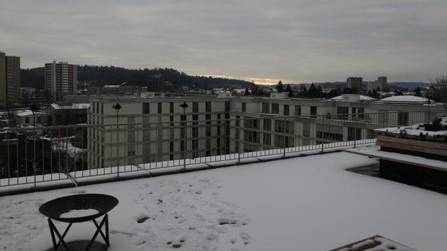 Aussicht über Berns Westen