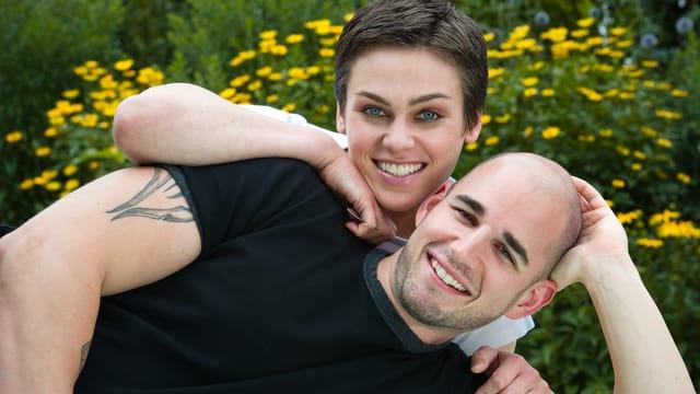 Nina Burri und Stefan Schwitter