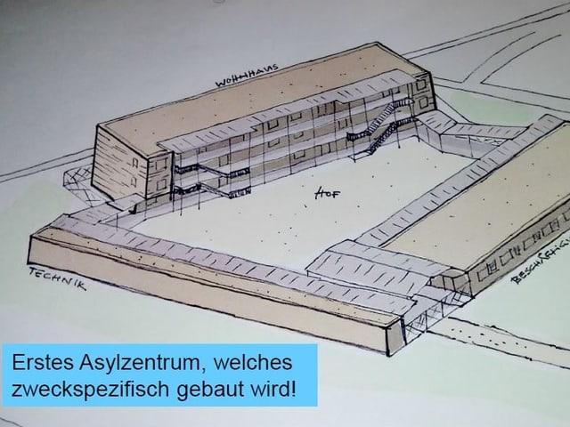 Aktuell leben im Kanton Luzern 155 unbegleitete minderjährige Asylsuchende. Im Grosshof soll es 120 Plätze geben.
