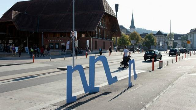 Bus oder Tram? Köniz debattiert über Tram Region Bern.