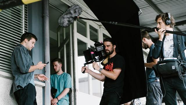 Dreharbeiten zur zweiten Staffel von «Nr. 47».