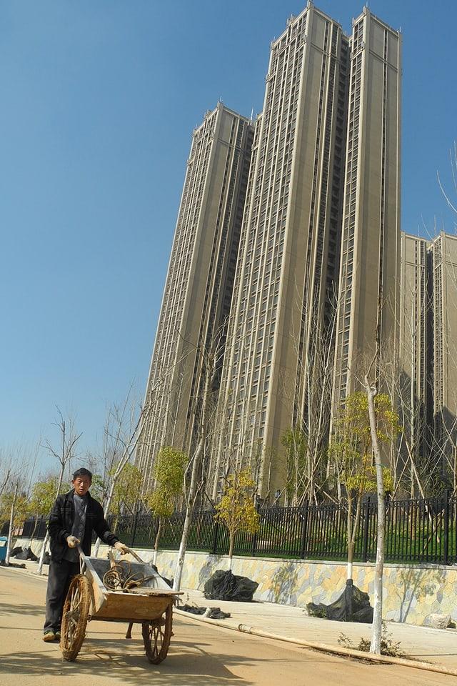 Wohnturm in China