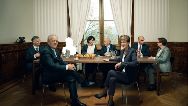 Bundesrat ohne Eveline Widmer-Schlumpf