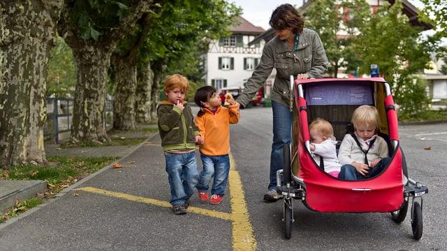 Kanton Bern will keine Familienergänzungsleistungen.