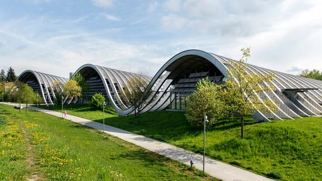 Das Zentrum Paul Klee von aussen.
