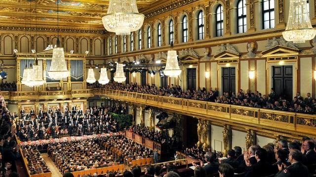 Eines der führenden Orchester der Welt: die Wiener Philharmoniker.