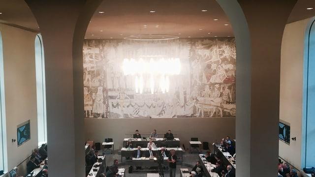 Il parlament grischun resta tuttina gronds sco quai ch'el è.