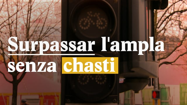 Laschar ir video «Surpassar lampla senza chasti?»
