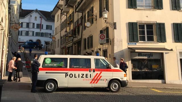 Auto der Stadtpolizei Solothurn