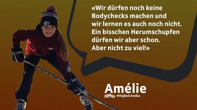 Amélie erklärt den Unterschied
