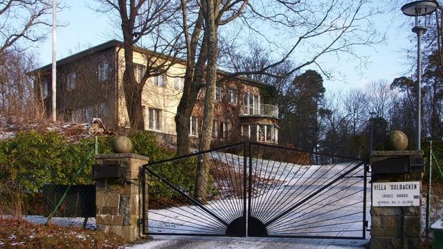 Villa Solbacken von aussen