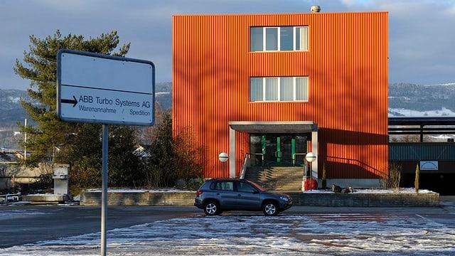 Das Bürogebäude der ABB Turbo Systems in Deitingen.
