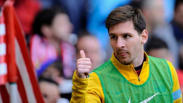 Lionel Messi lässt die Barcelona-Fans von der grossen Wende träumen.