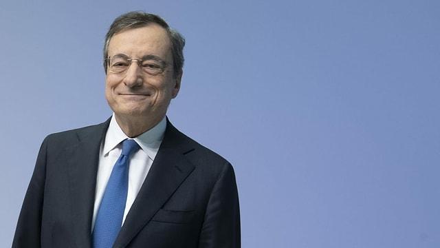 Der ehemalige Präsident der Europäischen Zentralbank: Mario Draghi.