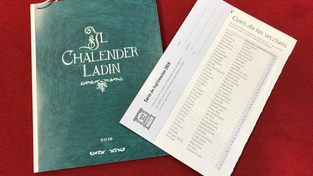 Chalender Ladin e la carta da legitimaziun 2018