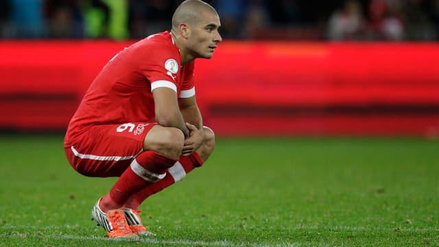 Eren Derdiyok fehlt im Test gegen Griechenland.