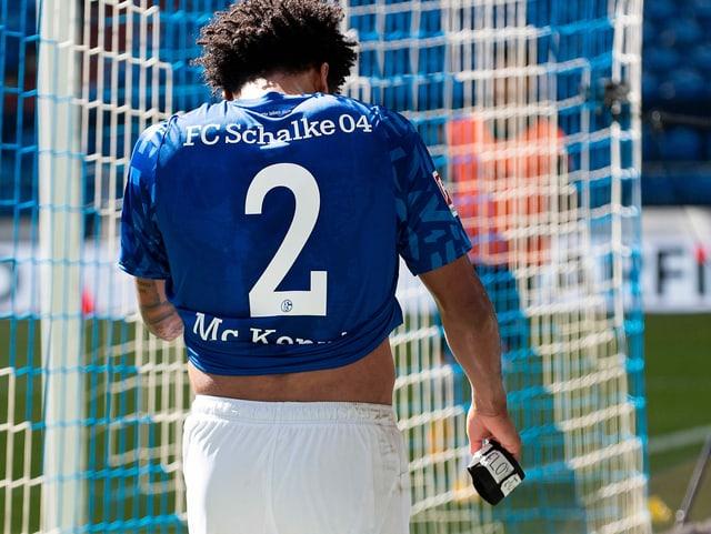 Schalkes Weston McKennie am vergangenen Wochenende.