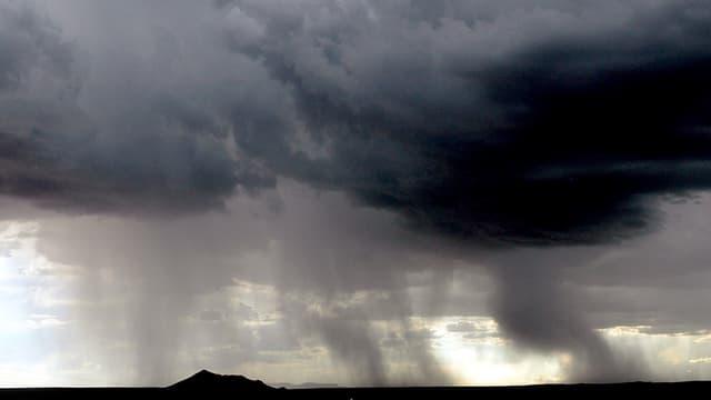 Ein Regensturm