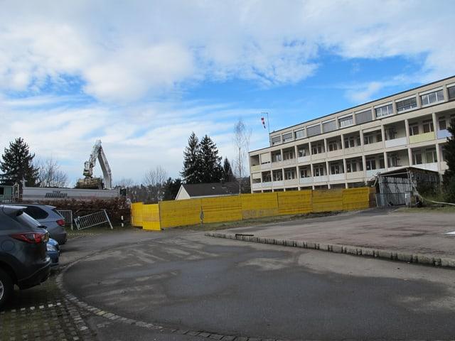 Baustelle beim Kinderspital
