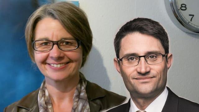 Portrait Martina Bernasconi und Lukas Engelberger