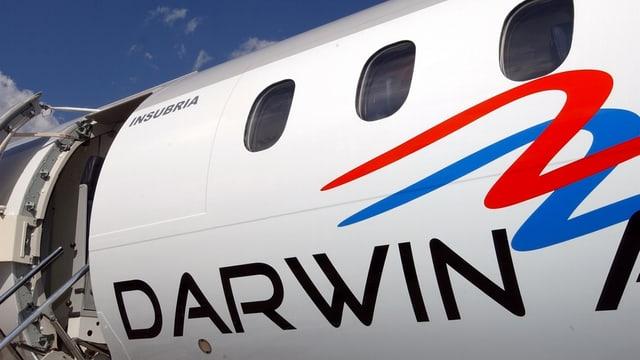 Il logo da Darwin sin in aviun.